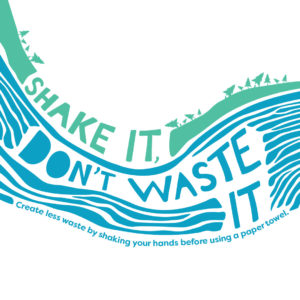 Shake It, Don't Waste It slogan