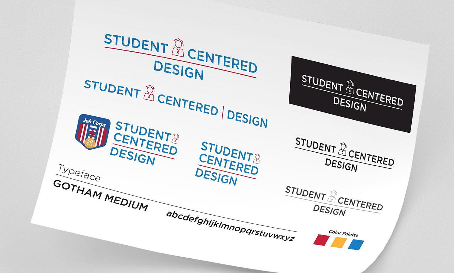Photo of Job Corps Student Centered Design style guide