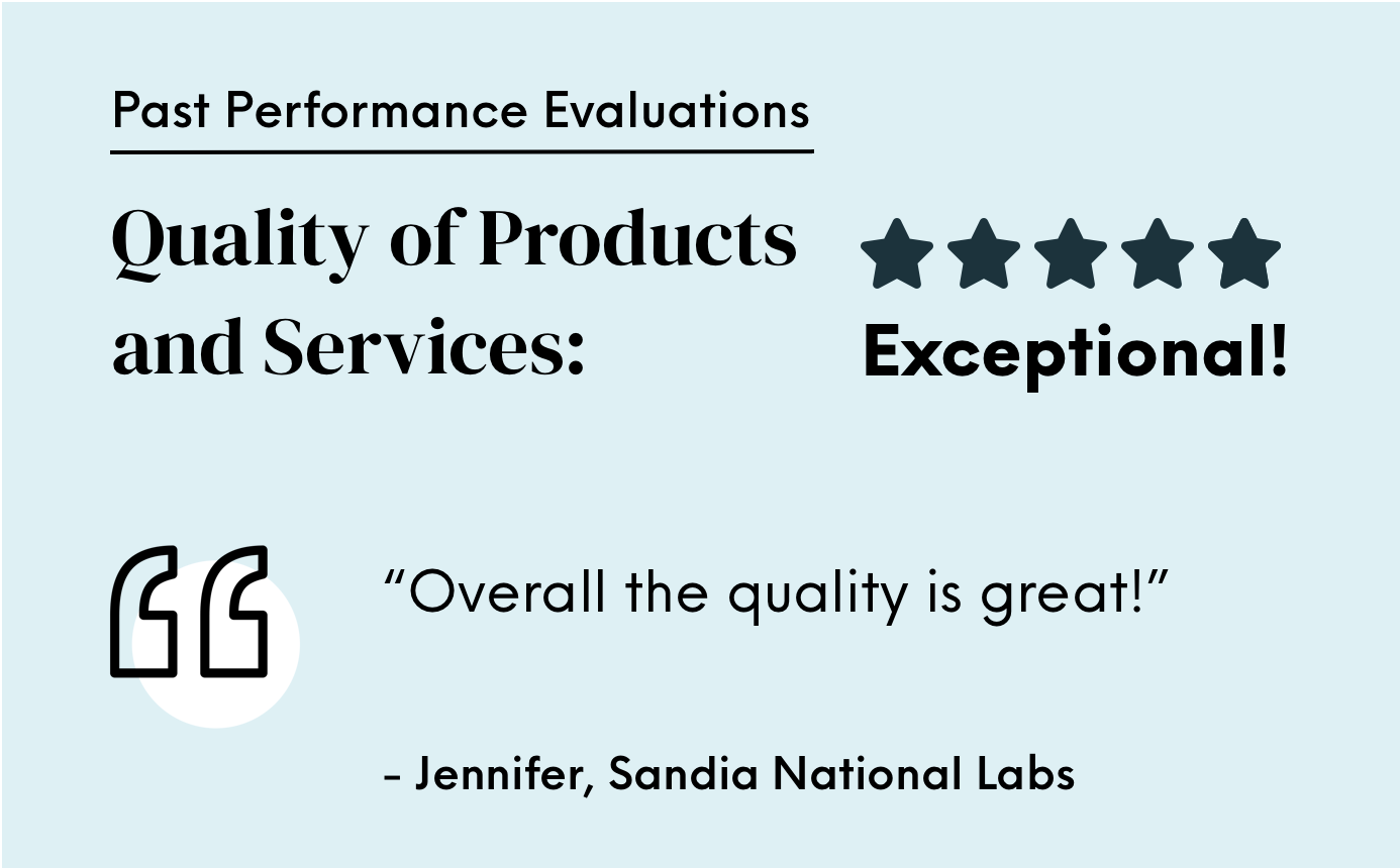 Exceptional past performance quality evaluation
