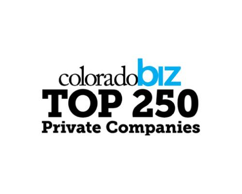 ColoradoBiz Top 250 Private Companies
