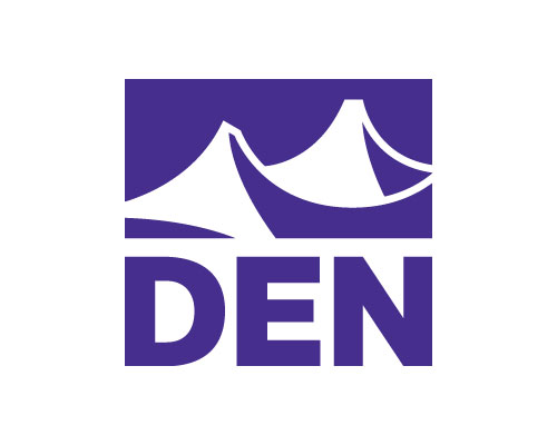 Image of Denver International Airport's logo. DEN is a client of Circuit Media and trusts us with their brand's communications.