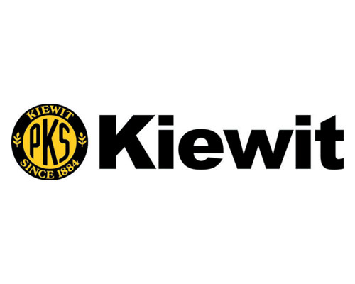 Image of Kiewit's logo. Kiewit has been a client of Circuit Media and trusts us with their brand's communications.