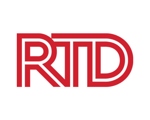 Image of RTD's logo. RTD is a client of Circuit Media and trusts us with their brand's communications.