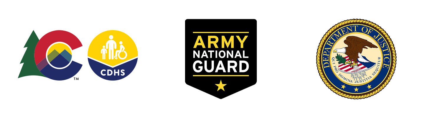 Colorado CDHS / Army National Guard / U.S. Department of Justice
