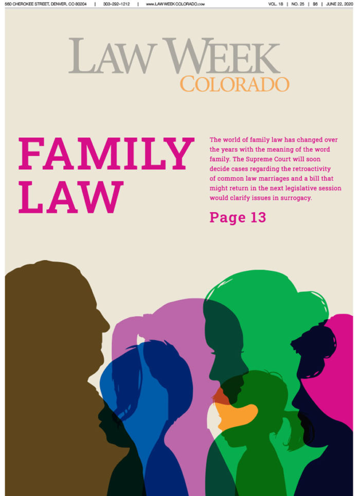 Law Week Colorado Family Law Cover