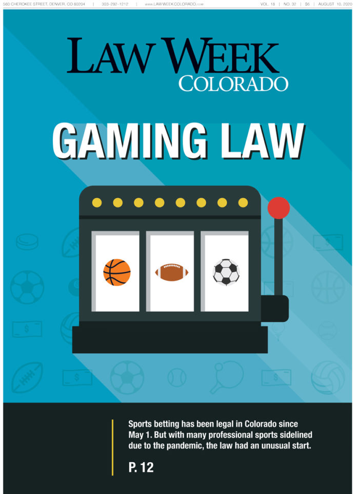 Law Week Colorado Gaming Law Cover