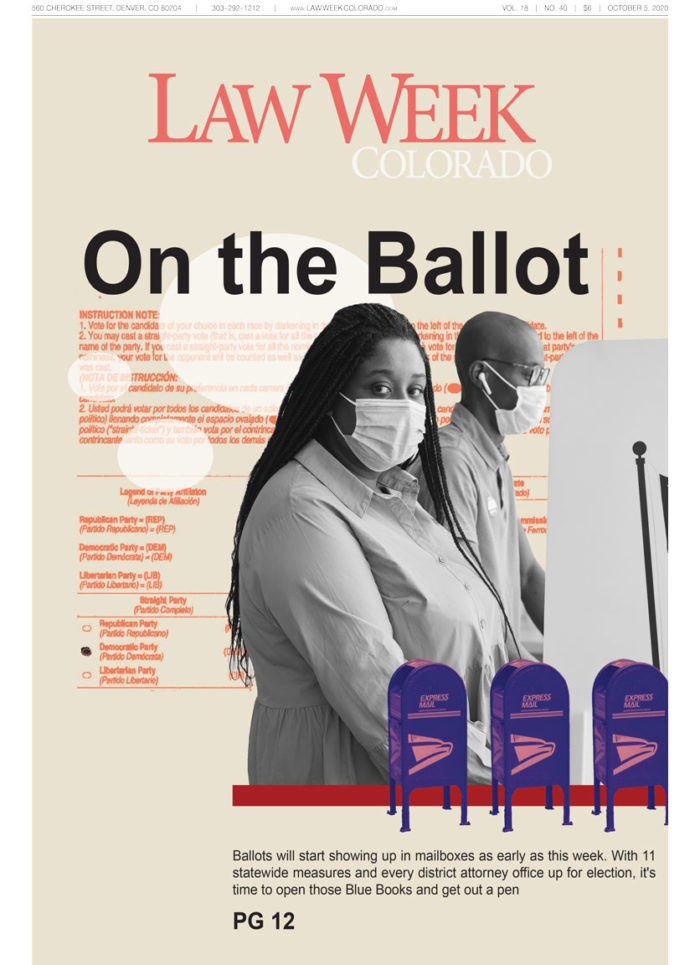 Law Week Colorado On The Ballot Cover