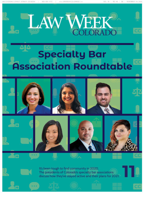 Law Week Colorado Roundtable Cover