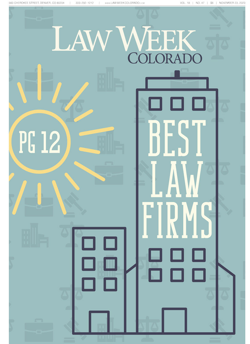 Law Week Colorado Best Law Firms Cover
