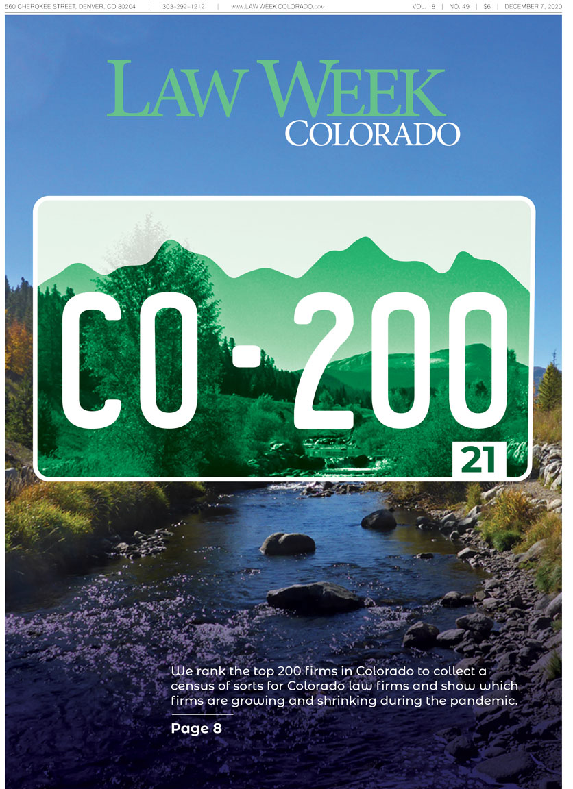 Law Week Colorado Colorado 200 Cover