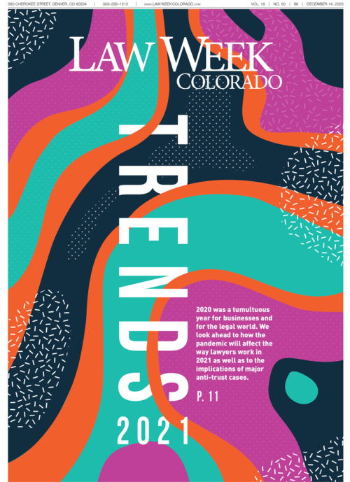 Law Week Colorado 2021 Trends Cover