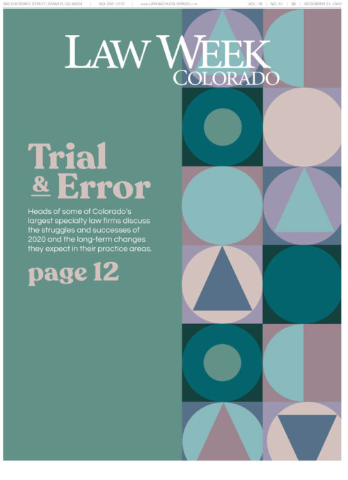Law Week Colorado Q4 Roundtable Cover