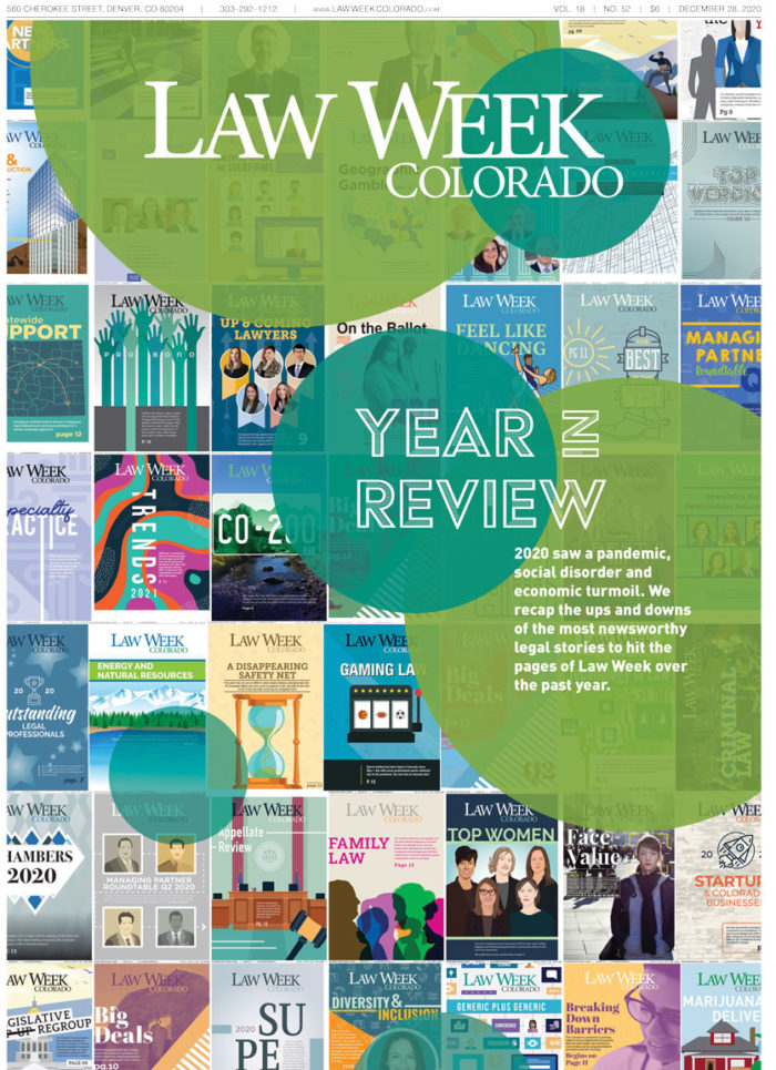 Law Week Colorado Year In Review Cover