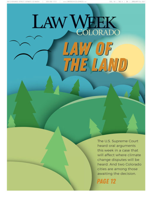 Law Week Colorado Environmental Law Cover