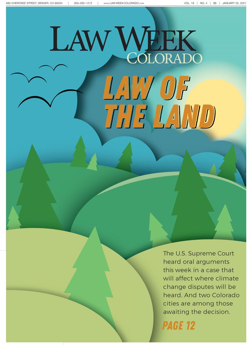 Law Week Colorado Environmental Law Cover