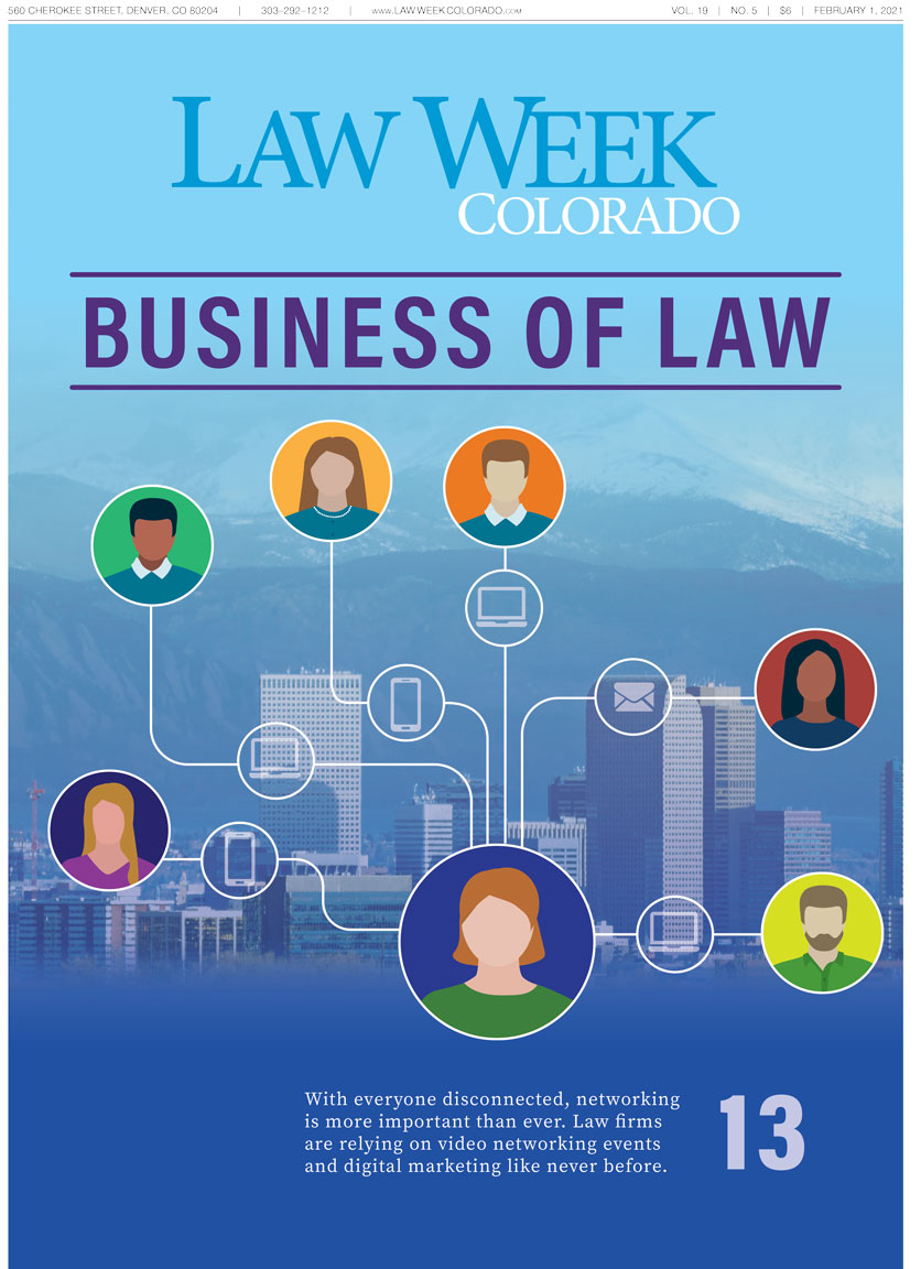 Law Week Colorado Business of Law Cover