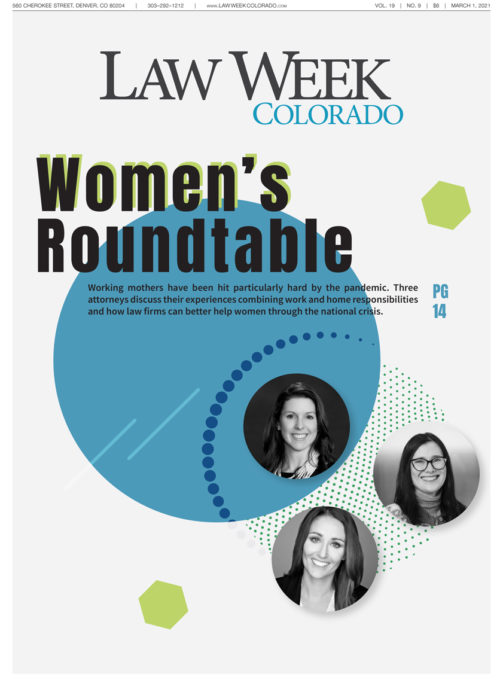 Law Week Colorado Women's Roundtable Cover