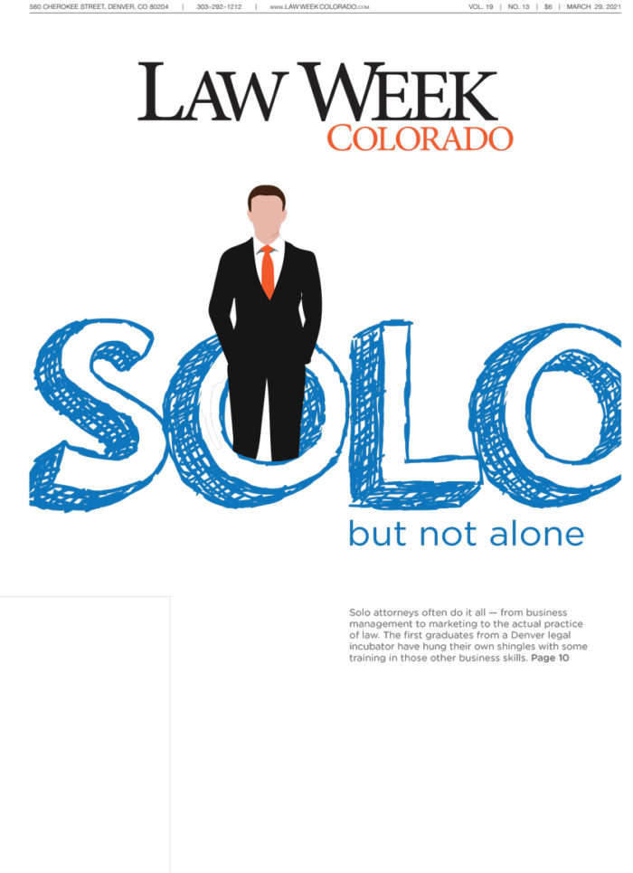 Law Week Colorado Legal Entrepreneurs and Solo Firms Associations Cover
