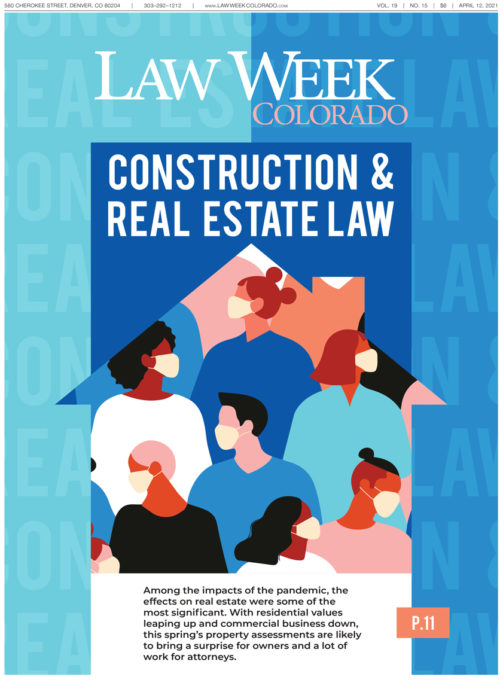 Law Week Colorado Construction and Real Estate Cover