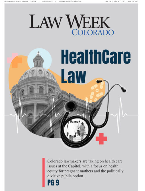 Law Week Colorado Health Care Law Cover