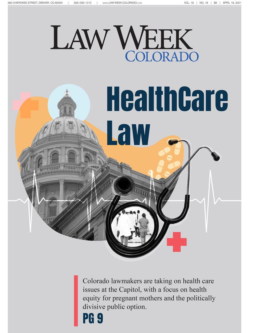 Law Week Colorado Health Care Law Cover