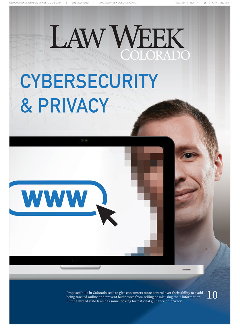 Law Week Colorado Cyber Security Cover
