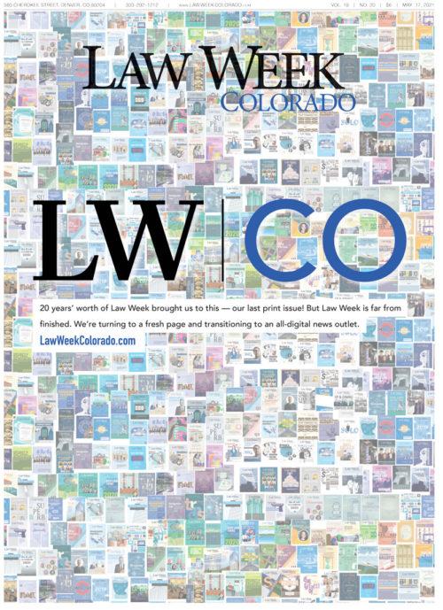 Law Week Colorado Diversity In Focus Cover